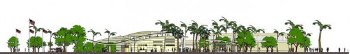 Illustration of the new Pearl Harbor Visitor Center & Museum