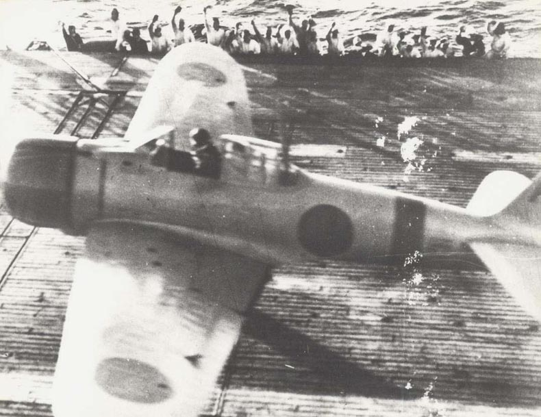 Japanese aircraft launch